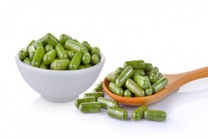 Moringa Leaf Powder Capsules