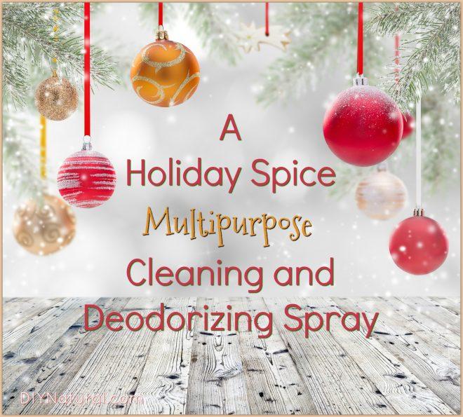 Multipurpose DIY Holiday Spice Refresher Spray