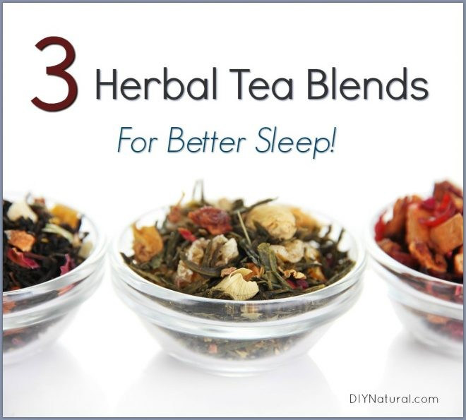 Three Delicious Herbal Tea Blends for Better Sleep
