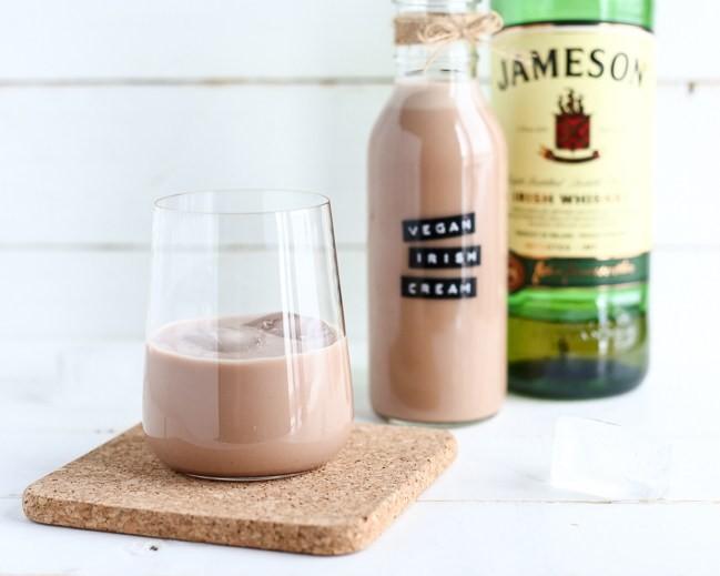 Vegan Irish Cream Liqueur (Homemade Baileys) - ilovevegan.com