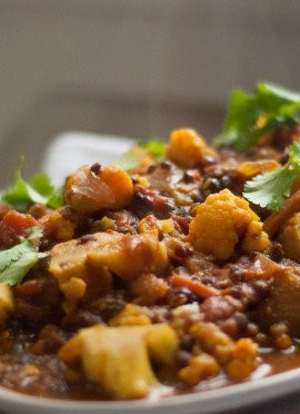 Tomato and Lentil Curry