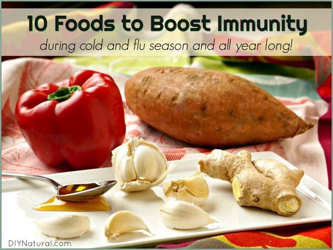 10 Foods to Boost Immunity in Cold and Flu Season