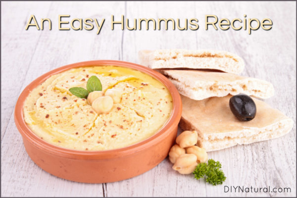 Simple & Delicious Hummus Recipe with Variations
