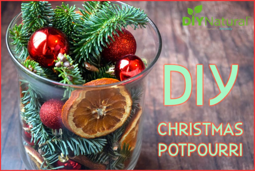 A Simple DIY Christmas Potpourri for Holiday Decor