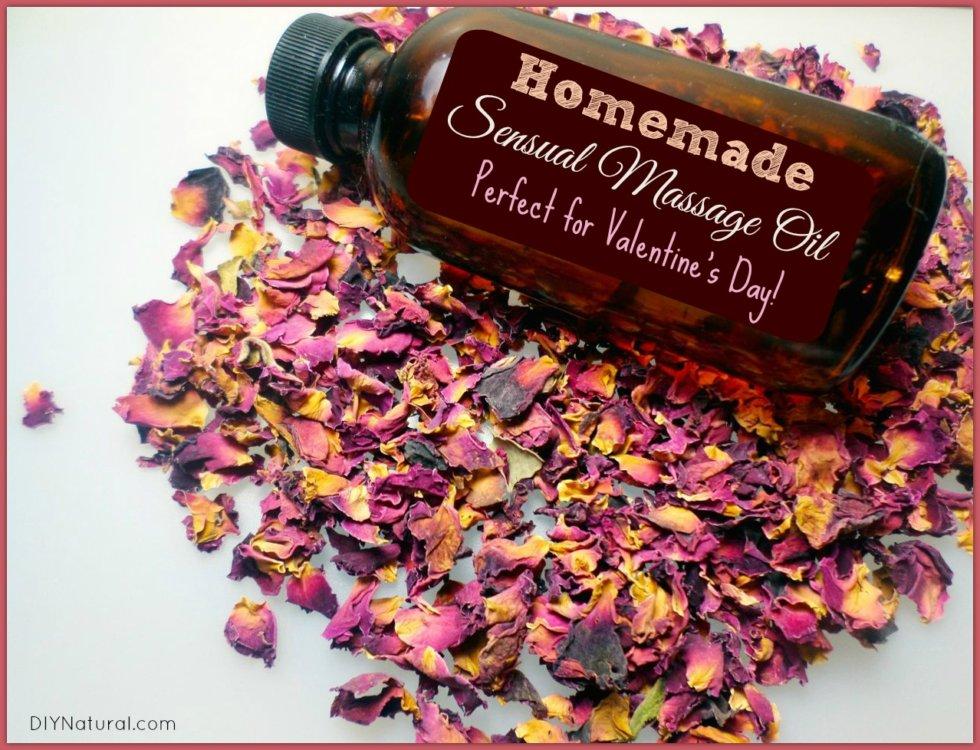 Sensual DIY Massage Oil: Perfect for Valentine's Day!