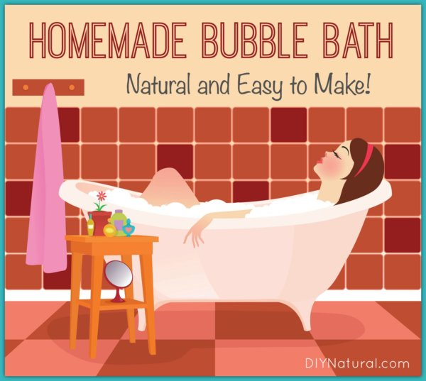 Homemade Bubble Bath Without All The Chemicals