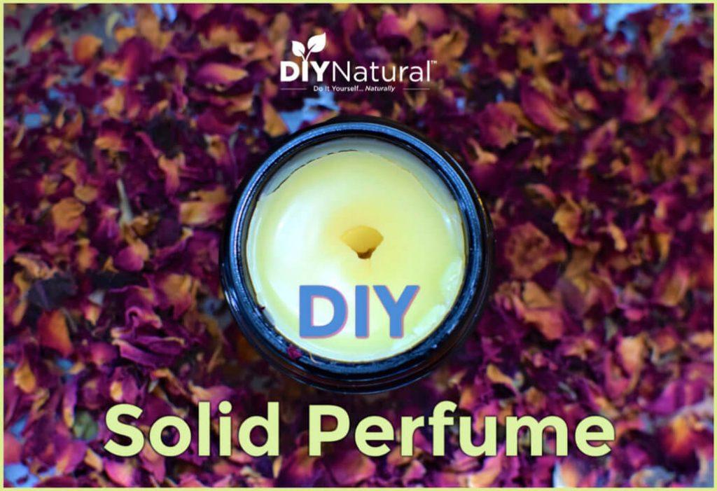A DIY Rose Bergamot Vanilla Solid Perfume Recipe