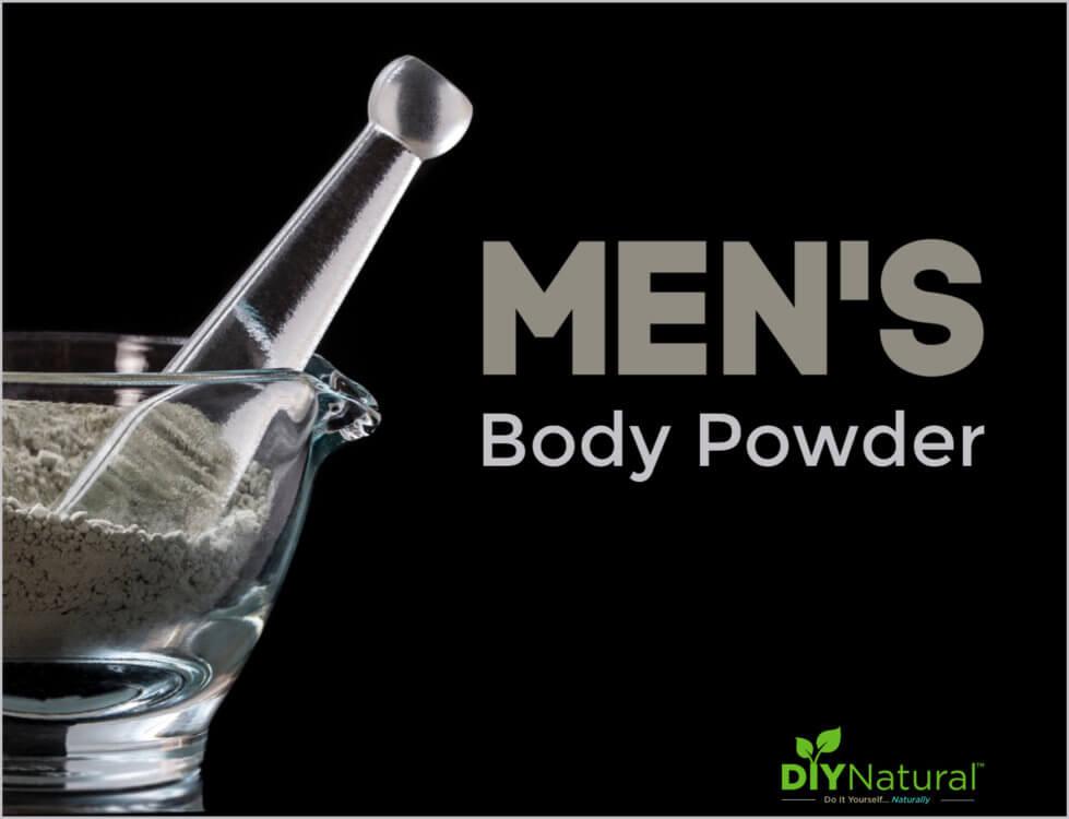Eucalyptus and Cedarwood Body Powder for Men