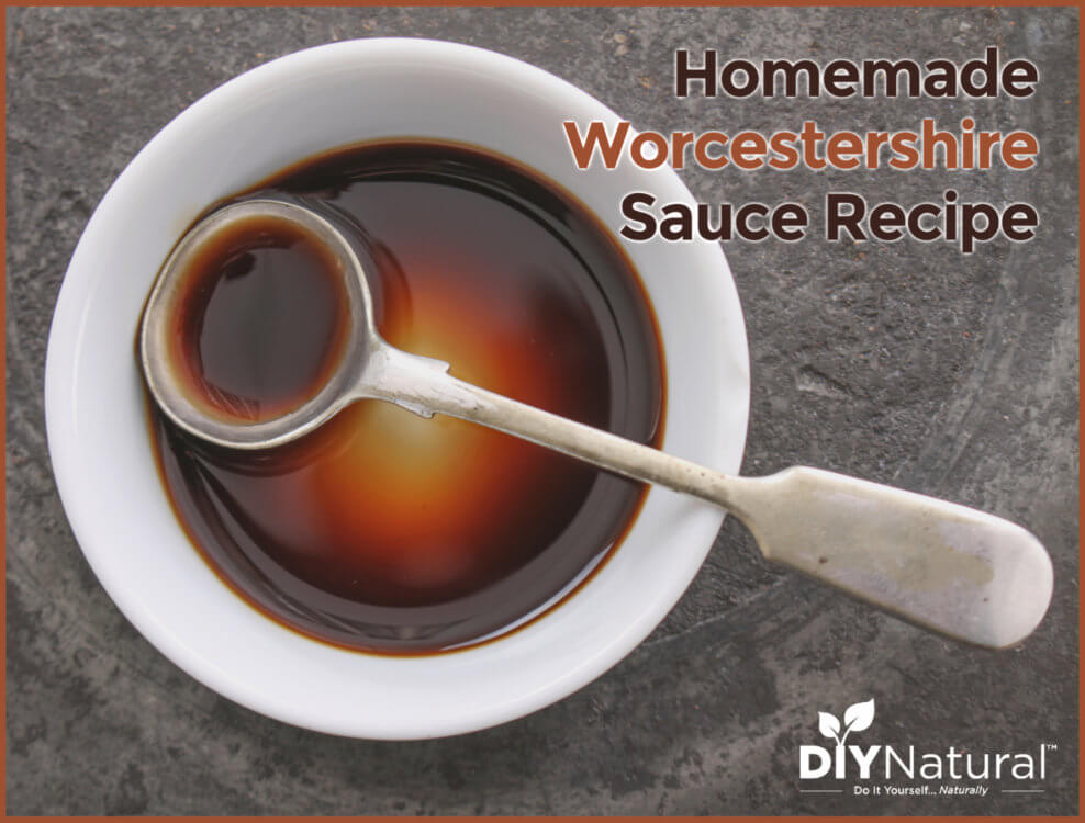A Delicious Homemade Worcestershire Sauce Recipe