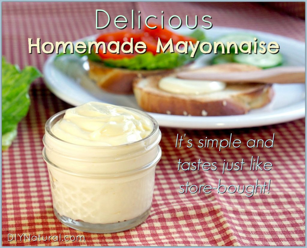 Simple & Delicious Homemade Mayonnaise Recipe
