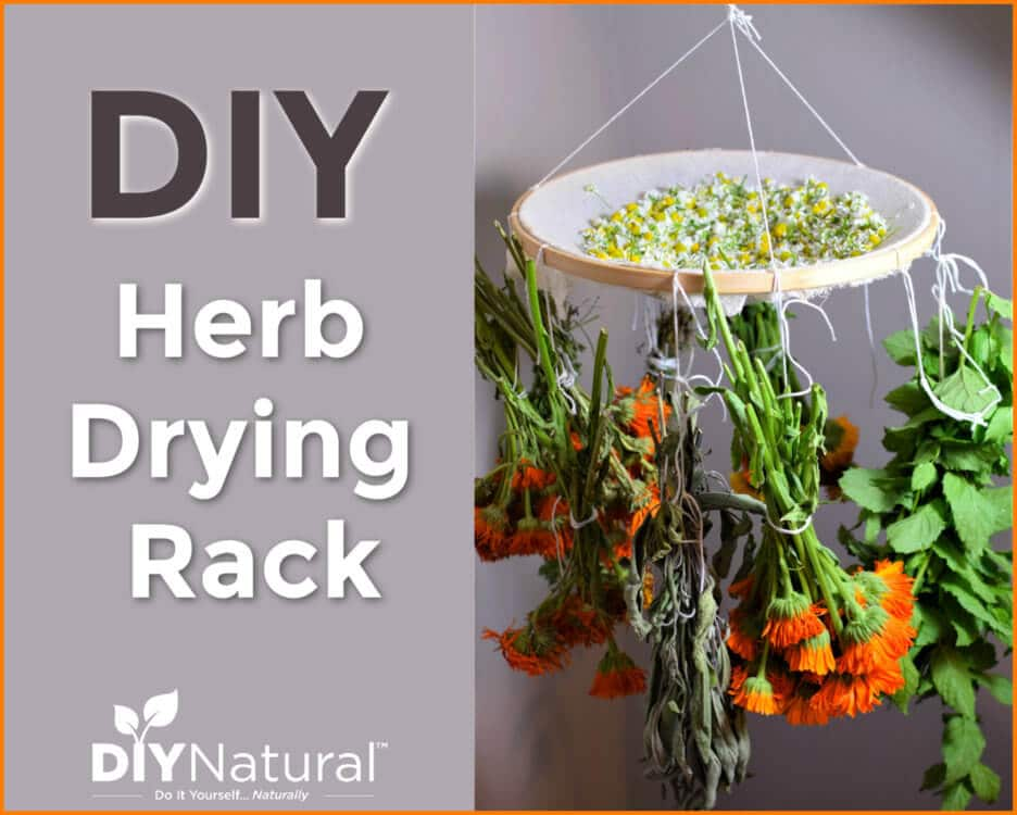 A Tutorial For A Simple DIY Herb Drying Rack