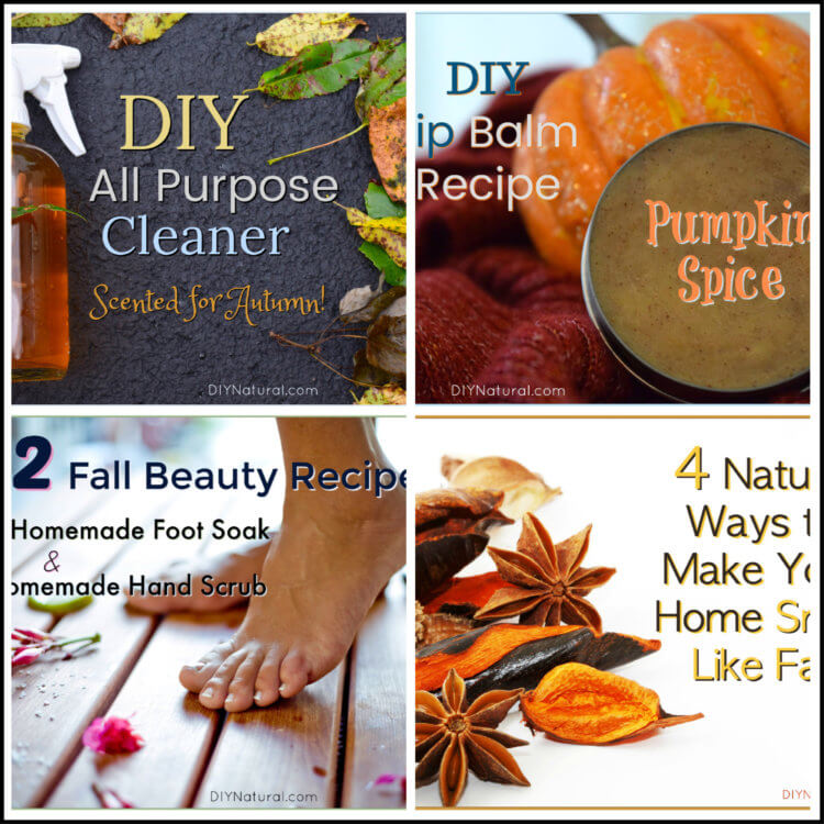 5 DIY Natural Beauty and Cleaning Projects for Fall