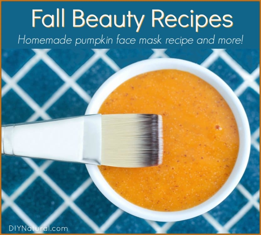Simple Autumn Beauty Recipes for Your Hair and Face