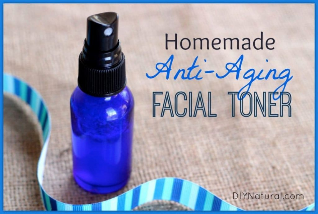 Anti-Aging Homemade Face Toner with Vitamin C