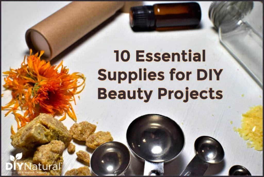 10 Essential Supplies for Your DIY Beauty Projects