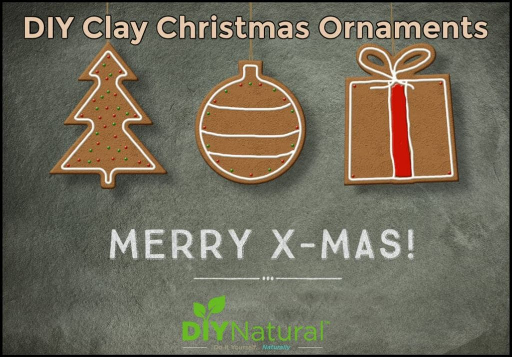 Make Simple and Fun Clay Christmas Ornaments
