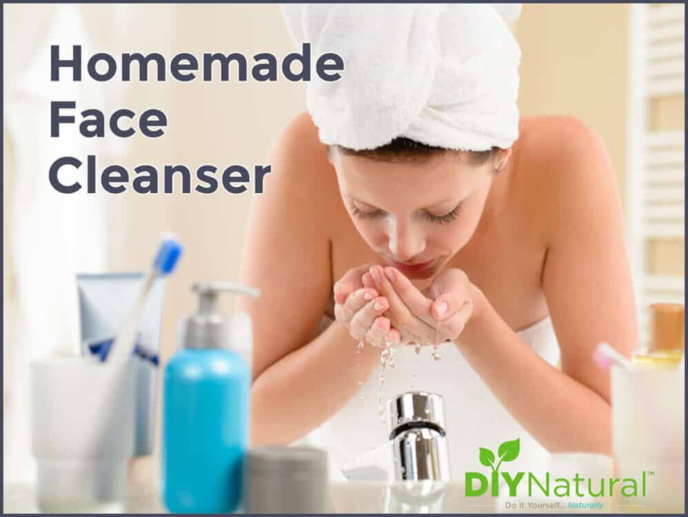 A Gentle and Effective Homemade Face Cleanser