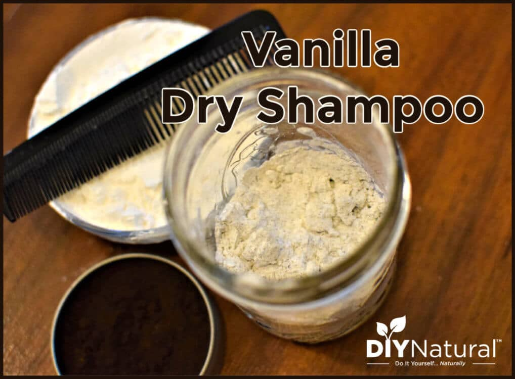 A VERY Simple DIY Vanilla Dry Shampoo Recipe