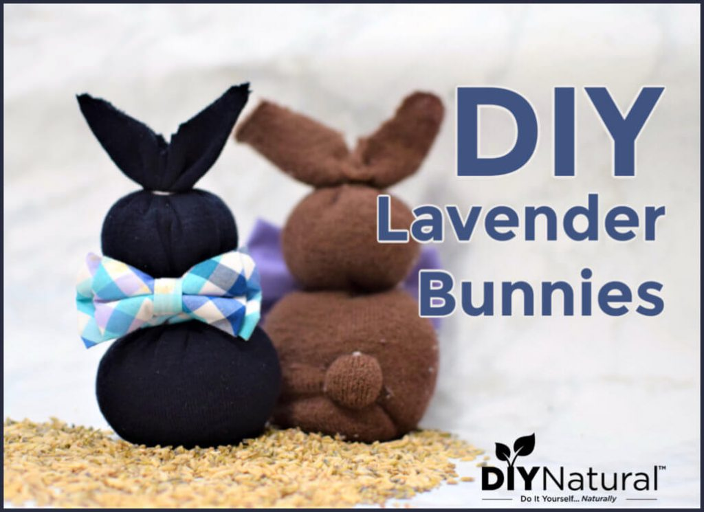 A No-Sew Way to Make Your Own Lavender Bunnies