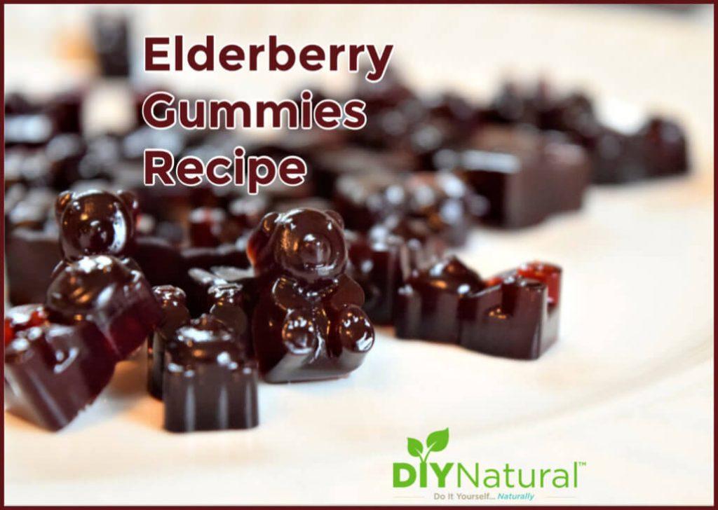 Elderberry Gummies Recipe with a Vegan Option