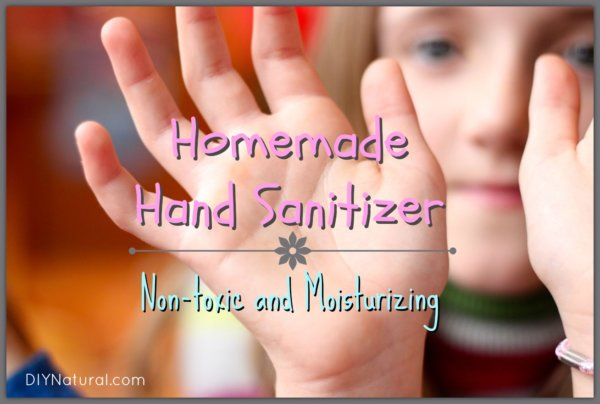 How To Make Natural Moisturizing Hand Sanitizer