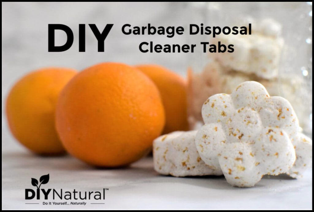 DIY Garbage Disposal Cleaning and Deodorizing Tabs