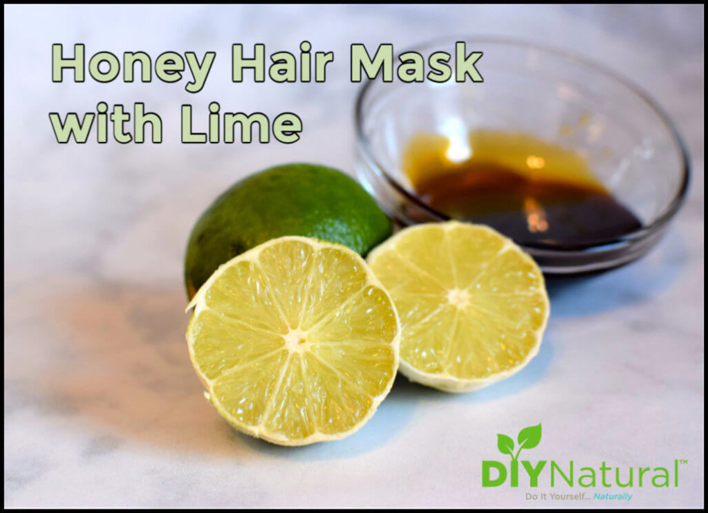 A DIY Honey Lime Hair Mask for Soft and Silky Hair