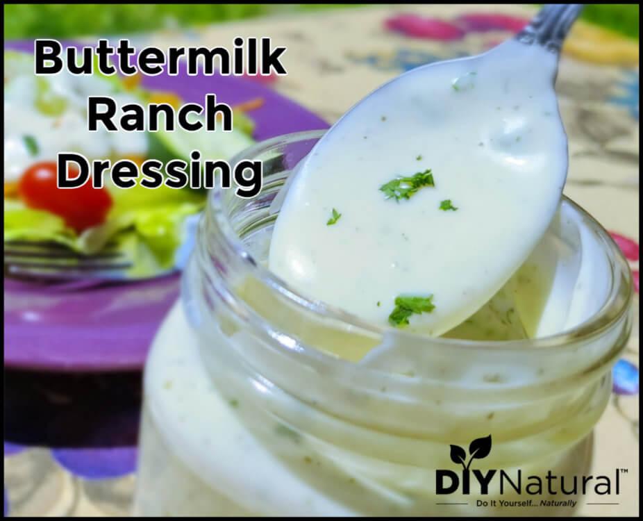 Simple Delicious Buttermilk Ranch Dressing Recipe